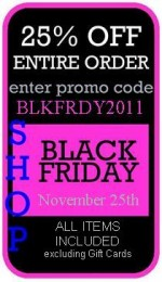 25% OFF at Real Girls - November 25, 2011 ONLY